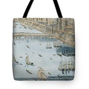 A General View Of The City Of London And The River Thames Tote Bag