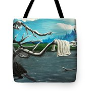 Aura On The Lake Tote Bag