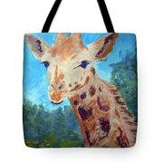 A Giraffe For Ori Tote Bag