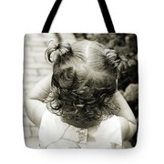 A Girl And Her Curls Tote Bag