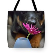 A Girl's First Flower Tote Bag