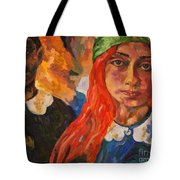 A Girl's View Of War 2 Tote Bag