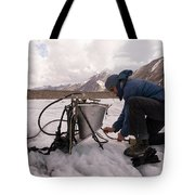 A Glaciologist Tinkers With A Steam Tote Bag