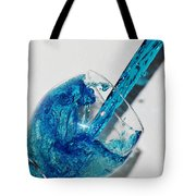 A Glass Of Rain Tote Bag
