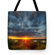 A Glorious Minneapolis Sunset Tote Bag
