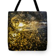 A Golden Barrel At The Wedge Tote Bag