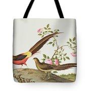 A Golden Pheasant Tote Bag
