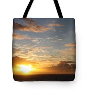 A Golden Sunrise - Singer Island Tote Bag