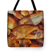 A Good Catch Of Fish Tote Bag