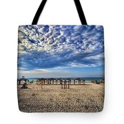 a good morning from Jerusalem beach  Tote Bag
