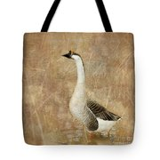 A Goose Is A Goose Tote Bag by Betty LaRue