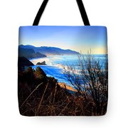 A Gorgeous Morning On The Pacific Tote Bag