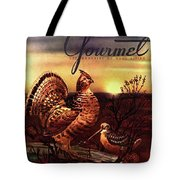 A Gourmet Cover Of A Turkey Tote Bag
