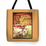A Gourmet Cover Of Apples Tote Bag
