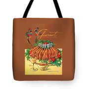 A Gourmet Cover Of Chicken Tote Bag by Henry Stahlhut