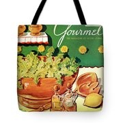 A Gourmet Cover Of Dandelion Salad Tote Bag