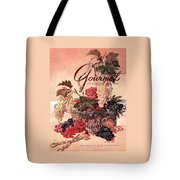 A Gourmet Cover Of Grapes Tote Bag