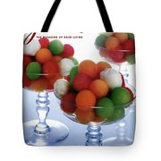 A Gourmet Cover Of Melon Balls Tote Bag