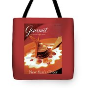 A Gourmet Cover Of Moch Mousse Tote Bag