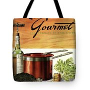 A Gourmet Cover Of Turtle Soup Ingredients Tote Bag
