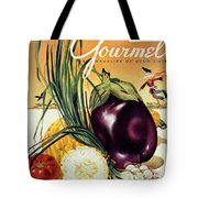 A Gourmet Cover Of Vegetables Tote Bag