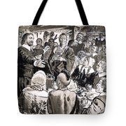 A Great Day In The Usa Tote Bag by CL Doughty