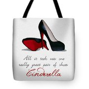 A Great Pair Of Shoes Tote Bag