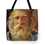 a Greek Portrait Tote Bag