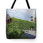 A Green House Tote Bag
