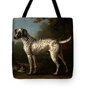 A Grey Spotted Hound Tote Bag