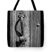 A Handle On It - Bw Tote Bag