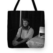 A Happy Amish Guy Tote Bag