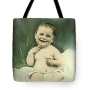 A Happy Baby Tote Bag
