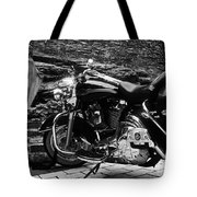 A Harley Davidson And The Virgin Mary Tote Bag