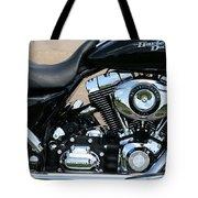 A Harley In Arlington Tote Bag