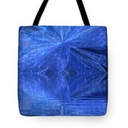 A Healing In Blue Living Waters Tote Bag