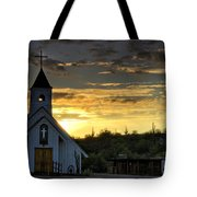 A Heavenly Morning  Tote Bag