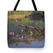 A Hedge Of Heron Tote Bag
