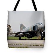 A Hellenic Air Force F-4e Phantom Tote Bag
