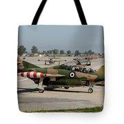 A Hellenic Air Force T-2 Buckeye Tote Bag