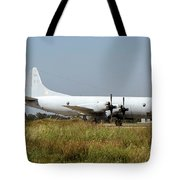 A Hellenic Navy P-3 Orion Aew Aircraft Tote Bag