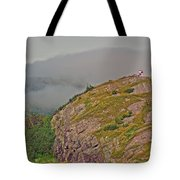 A High Point On Signal Hill National Historic Site In Saint John's-nl Tote Bag
