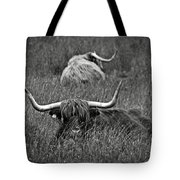 A Highland Cattle In The Scottish Highlands Tote Bag