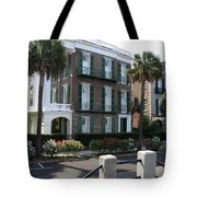 A Historic Home On The Battery - Charleston Tote Bag