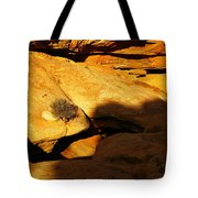 A Hole In The Rock Tote Bag