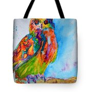 A Hootiful Moment In Time Tote Bag