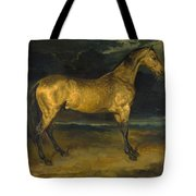A Horse Frightened By Lightning Tote Bag