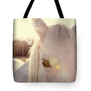 A Horse's Eyes Tote Bag