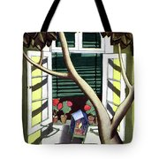 A House And Garden Cover Of A Birdcage Tote Bag