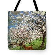 A House And Garden Cover Of A Calf Tote Bag